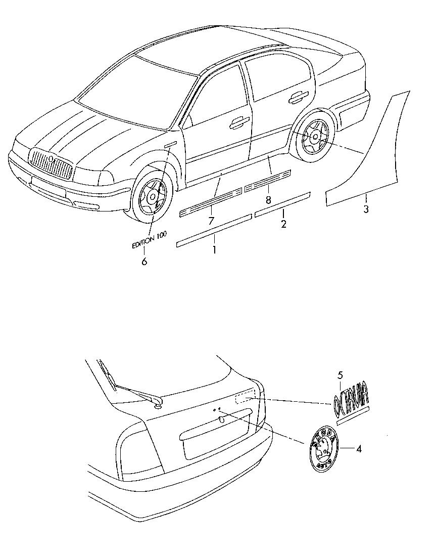 Skoda автозапчасти для иномарок